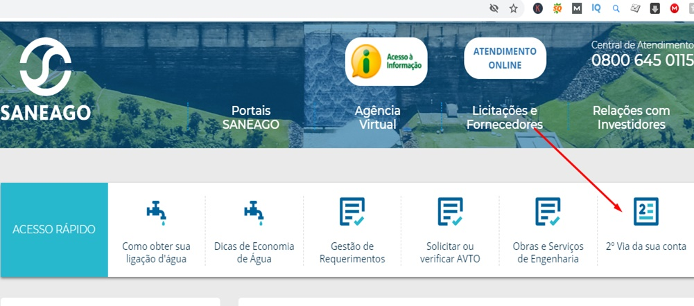 Agencia Virtual Saneago